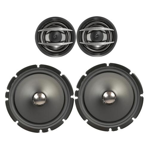 Колонки автомобильные PIONEER TS-A1600C, компонентные, 350Вт цена и фото