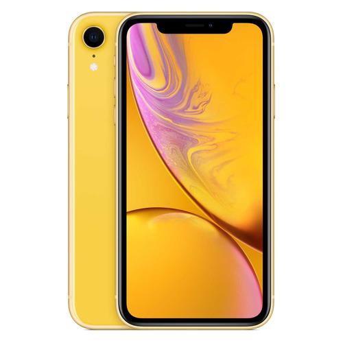 Смартфон APPLE iPhone XR 64Gb, MRY72RU/A, желтый смартфон iphone xr 64gb yellow mry72ru a