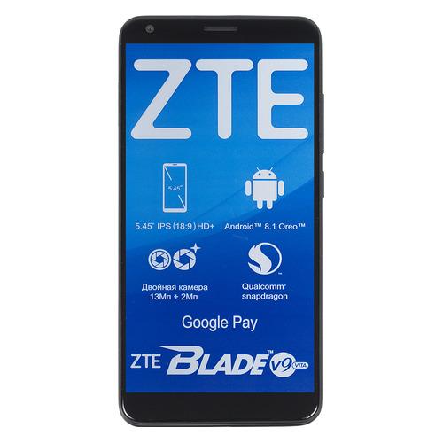 Смартфон ZTE Blade V9 Vita 16Gb, черный смартфон zte blade v9 vita 16gb черный