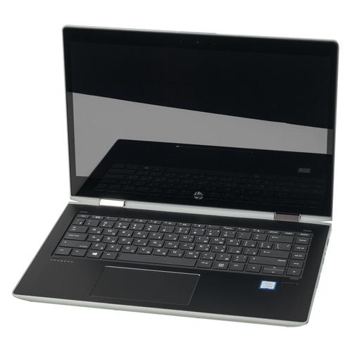 Ноутбук-трансформер HP ProBook x360 440 G1, 14 , Intel Core i5 8250U 1.6ГГц, 8Гб, 256Гб SSD, Intel UHD Graphics 620, Windows 10 Professional, 4LS89EA, серебристый  - купить со скидкой
