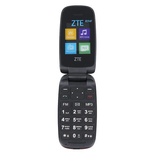 Мобильный телефон ZTE R341, черный zte f327 white мобильный телефон