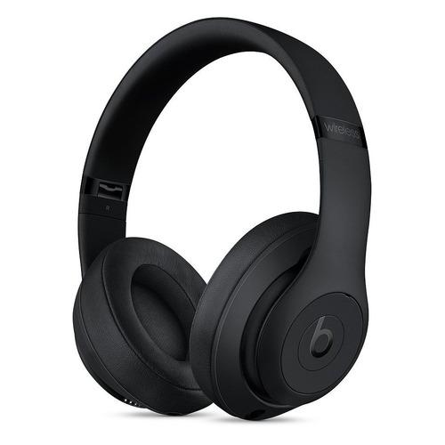 Наушники с микрофоном BEATS Studio3 Wireless, 3.5 мм/Bluetooth, мониторы, черный матовый [mq562ee/a] цена 2017