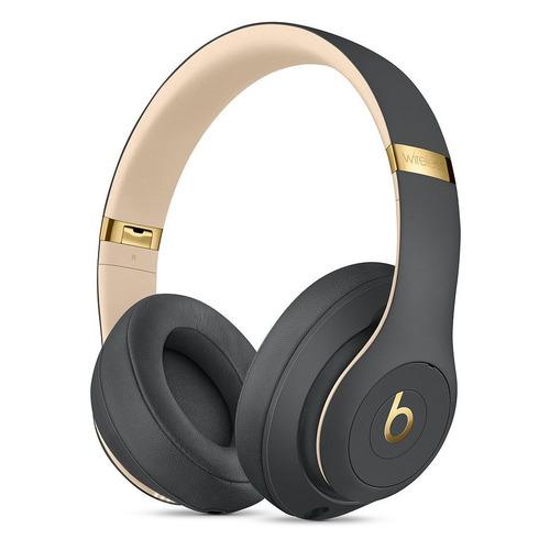 Наушники с микрофоном BEATS Studio3 Wireless, 3.5 мм/Bluetooth, мониторы, темно-серый [mquf2ee/a] цена 2017
