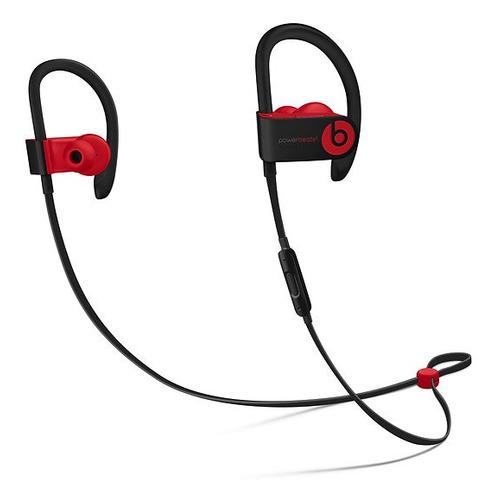 Наушники с микрофоном BEATS Powerbeats 3 Decade Collection, Bluetooth, вкладыши, черный/красный [mrq92ee/a] наушники с микрофоном beats powerbeats 3 bluetooth вкладыши черный [ml8v2ee a]