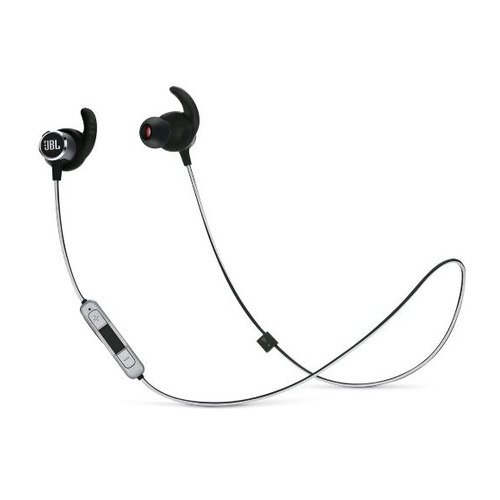 Наушники с микрофоном JBL Reflect Mini 2, Bluetooth, вкладыши, черный [jblrefmini2blk] цена в Москве и Питере