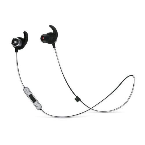 Фото - Наушники с микрофоном JBL Reflect Mini 2, Bluetooth, вкладыши, черный [jblrefmini2blk] bt наушники гарнитура вкладыши jbl reflect mini2 бирюзовый jblrefmini2tel