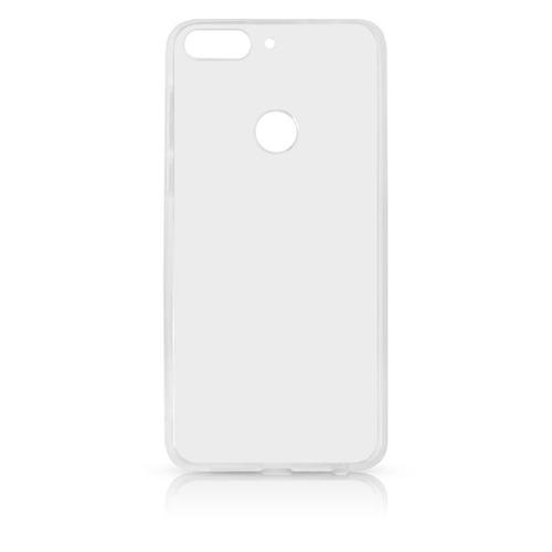цена на Чехол (клип-кейс) DF hwCase-52, для Huawei Honor 7C Pro, прозрачный