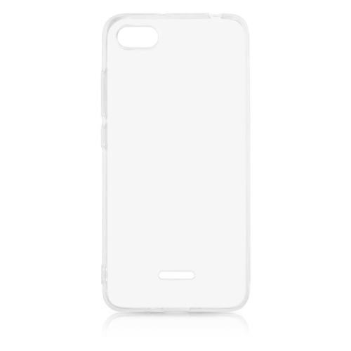 Чехол (клип-кейс) DF xiCase-33, для Xiaomi Redmi 6A, прозрачный клип кейс skinbox clip для prestigio grace p5 прозрачный