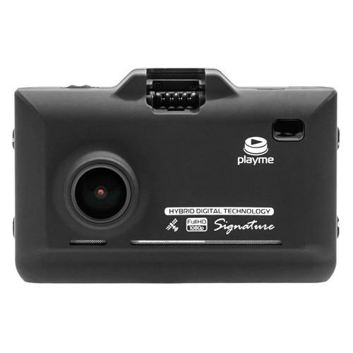 Видеорегистратор с радар-детектором Playme P570SG GPS черный