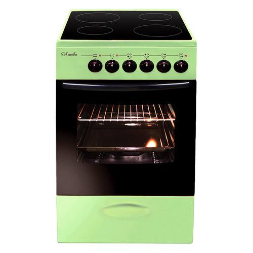 Электрическая плита ЛЫСЬВА ЭПС 402 МС, стеклокерамика, зеленый