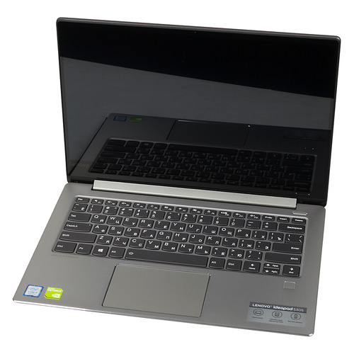 Ноутбук LENOVO IdeaPad 530S-14IKB, 14, IPS, Intel Core i5 8250U 1.6ГГц, 8Гб, 128Гб SSD, nVidia GeForce Mx130 - 2048 Мб, Windows 10, 81EU00MNRU, серый