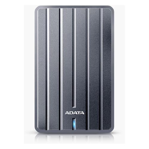 Внешний жесткий диск A-DATA DashDrive Durable HC660, 1Тб, серый [ahc660-1tu31-cgy] цена и фото