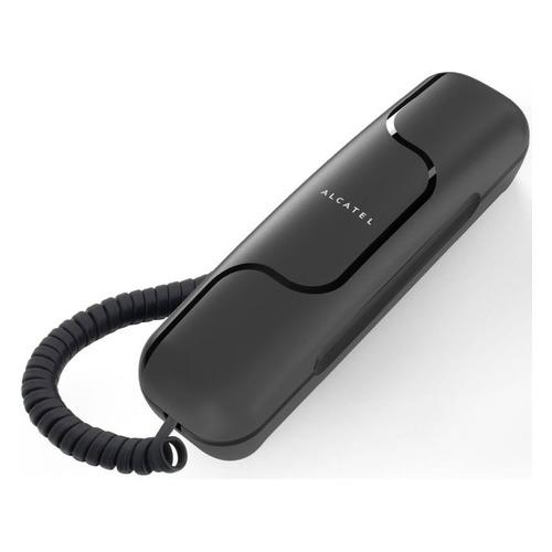 Проводной телефон ALCATEL T06, черный partner чехол flip case alcatel 5036 pop c5 черный