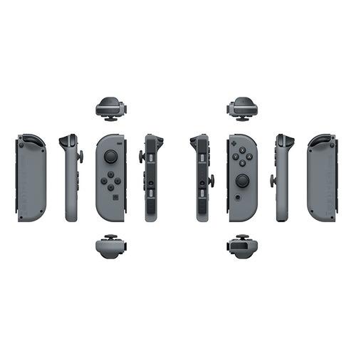 Беспроводной контроллер NINTENDO Joy-Con, для Nintendo Switch, серый контроллер nintendo joy con red blue acswt5