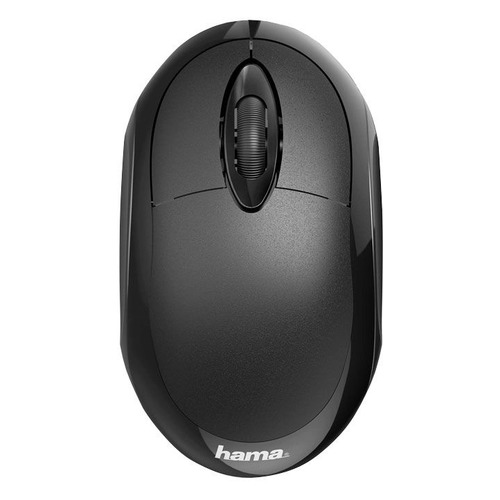 Мышь HAMA MC-100, оптическая, проводная, USB, черный [00182600] mc saite mc 002 800 1000dpi usb wired optical mouse black yellow 137cm cable