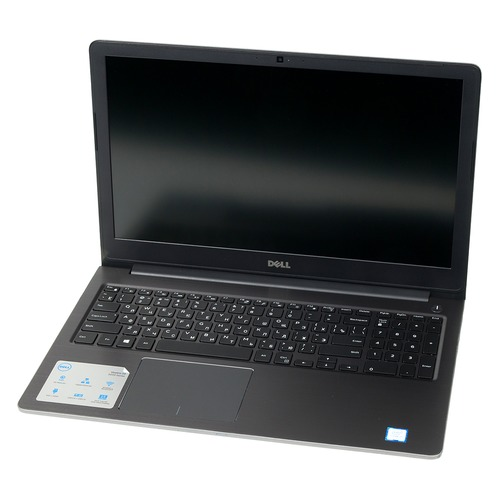 Ноутбук DELL Vostro 5568, 15.6, Intel Core i5 7200U 2.5ГГц, 8Гб, 256Гб SSD, nVidia GeForce GTX 940MX - 2048 Мб, Linux Ubuntu, 5568-7240, серый