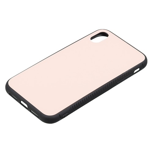 Чехол (клип-кейс) Gresso Glass, для Apple iPhone XR, розовый [gr17gls122] клип кейс gresso glass edge для apple iphone xr гуайра