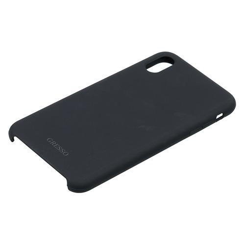 купить Чехол (клип-кейс) GRESSO Gresso Smart, для Apple iPhone XS Max, черный [gr17smt039] по цене 350 рублей