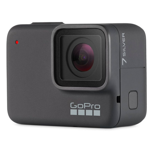 Экшн-камера GOPRO HERO7 Silver Edition 4K, WiFi, серый [chdhc-601-le] ru warehouse soocoo s100 4k sport sports camera 4k wifi built in gyro with gps extension gps model not include action cam