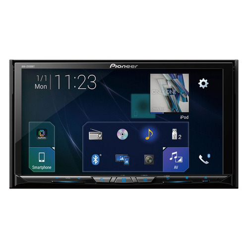 Автомагнитола PIONEER AVH-Z9100BT, USB, SD автомобильный dvd плеер lg 2 din mazda 5 dvd gps tv 3g wifi bt usb sd 8