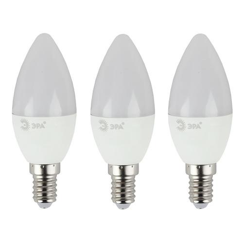 Фото - Упаковка ламп LED ЭРА E14, свеча, 11Вт, 4000К, белый нейтральный, B35-11w-840-E14, 3 шт. [б0038522] упаковка ламп led эра e14 свеча 6вт 4000к белый нейтральный b35 6w 840 e14 3 шт [б0020619]
