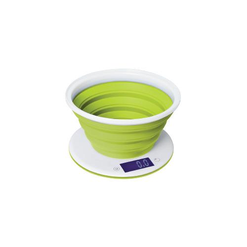 Весы кухонные STARWIND SSK5575, белый/зеленый весы кухонные 5кг механические пластик