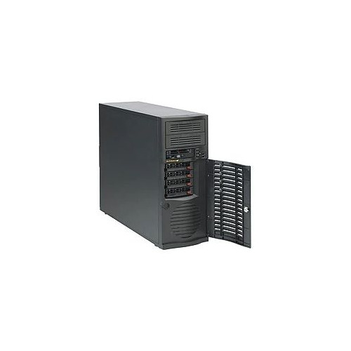 Корпус SuperMicro CSE-733TQ-668B Midi-Tower 668W черный цена и фото