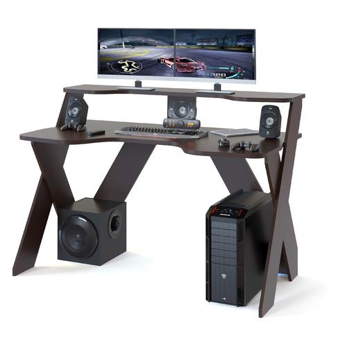 Стол игровой СОКОЛ КСТ-117, ЛДСП, венге игровой манеж king kids 10 частей 80 х 40 см