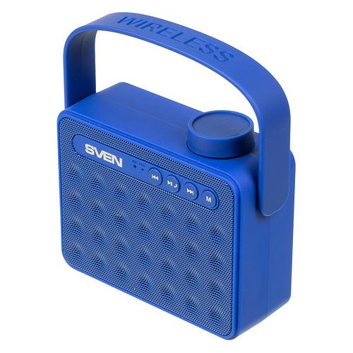 лучшая цена Портативная колонка SVEN PS-72, 6Вт, синий