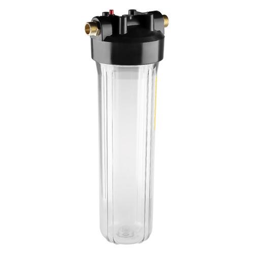 Корпус ГЕЙЗЕР 20BB, прозрачный [50549] фильтр предварительной очистки гейзер корпус 20bb с латунными вставками 50716