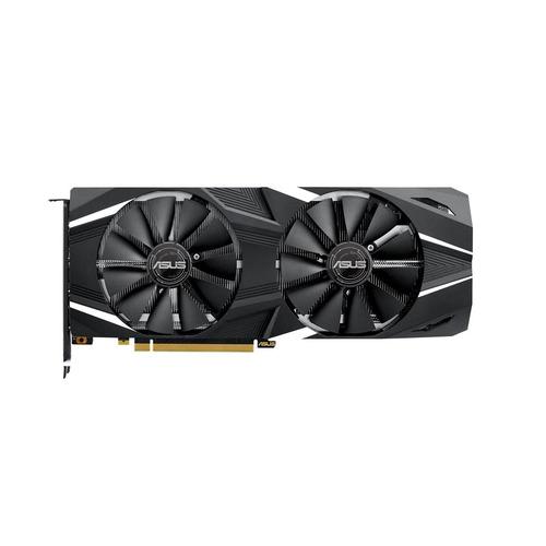 Видеокарта ASUS nVidia GeForce RTX 2070 , DUAL-RTX2070-O8G, 8Гб, GDDR6, Ret цена и фото