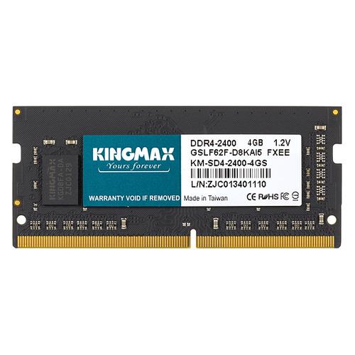Модуль памяти KINGMAX KM-SD4-2400-4GS DDR4 - 4Гб 2400, SO-DIMM, Ret цена
