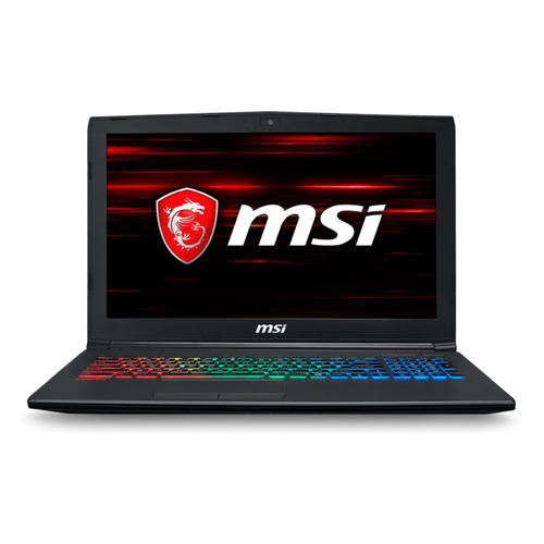 цена на Ноутбук MSI GF62 8RD-266RU, 15.6, Intel Core i7 8750H 2.2ГГц, 16Гб, 1000Гб, 128Гб SSD, nVidia GeForce GTX 1050 Ti - 4096 Мб, Windows 10, 9S7-16JF22-266, черный