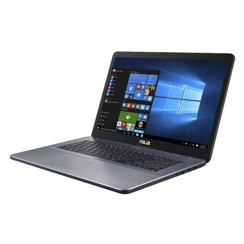 Ноутбук ASUS VivoBook X705UB-GC228T, 17.3, IPS, Intel Core i5 8250U 1.6ГГц, 8Гб, 1000Гб, nVidia GeForce Mx110 - 2048 Мб, Windows 10, 90NB0IG2-M02550, серый ноутбук asus x507ub bq256t 90nb0hn1 m03580 intel core i5 7200u 2 5 ghz 4096mb 500gb nvidia geforce mx110 wi fi cam 15 6 1920x1080 windows 10 64 bit