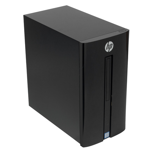 Компьютер HP 460-p234ur, Intel Core i5 7400T, DDR4 8Гб, 1000Гб, NVIDIA GeForce GTX 1050 - 2048 Мб, DVD-RW, Free DOS 2.0, черный [5mh22ea] моноблок msi pro 24 6nc 024ru intel core i5 6400 8гб 1000гб nvidia geforce gt930mx 2048 мб dvd rw windows 10 home черный [9s6 ae9311 024]