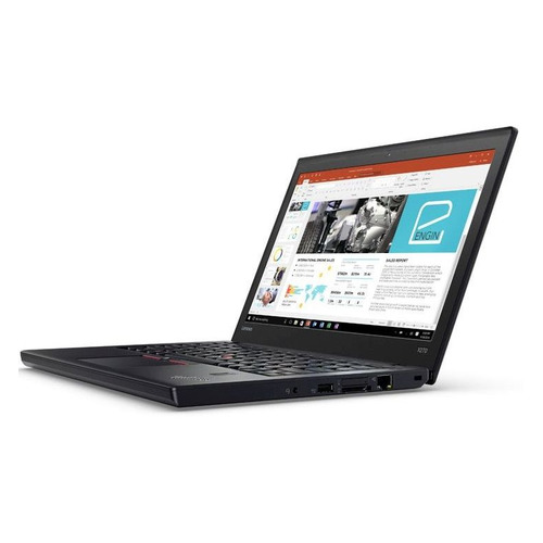 Ноутбук LENOVO ThinkPad X270, 12.5, IPS, Intel Core i3 6006U 2.6ГГц, 8Гб, 256Гб SSD, Intel HD Graphics 520, Windows 10 Professional, 20K5S5L500, черный