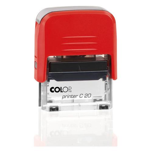 Текстовый штамп автоматический COLOP Printer C20 /ОПЛАЧЕНО С ДАТОЙ, оттиск 38 х 14 мм, шрифт 3.1 мм, прямоугольный Printer C20 /ОПЛАЧЕНО С ДАТОЙ по цене 338
