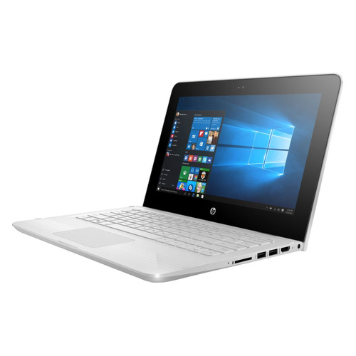 Ноутбук-трансформер HP x360 11-ab193ur, 11.6, IPS, Intel Celeron N4000 1.1ГГц, 4Гб, 500Гб, Intel UHD Graphics 605, Windows 10, 4XY15EA, белый chuwi lapbook 12 3 6gb 64gb windows 10 intel celeron n3450