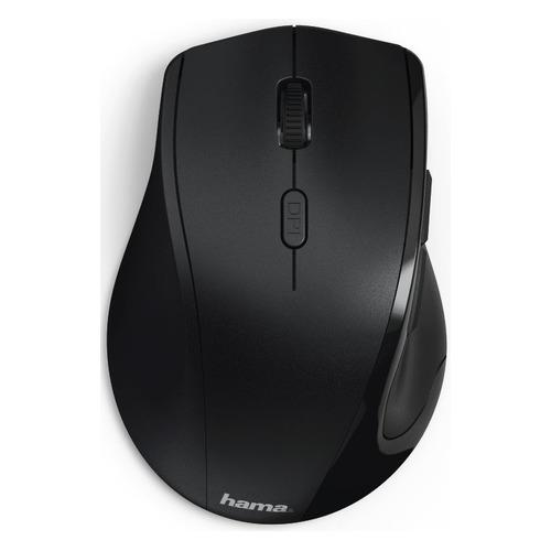 Мышь HAMA Riano, оптическая, беспроводная, USB, черный [00182645] цена