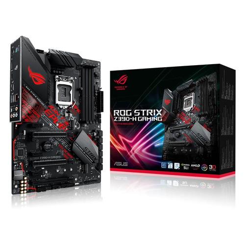 цена на Материнская плата ASUS ROG STRIX Z390-H GAMING, LGA 1151v2, Intel Z390, ATX, Ret