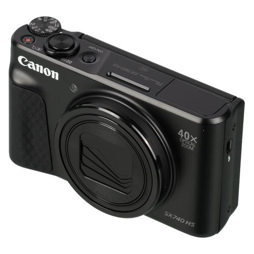 Фото - Цифровой фотоаппарат CANON PowerShot SX740HS, черный 150 мм 15 см 6 электронной цифровой жк сталь штангенциркуль калибр микрометр