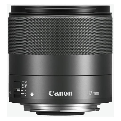Объектив CANON 32mm f/1.4 EF-M STM, Canon EF-M, черный [2439c005] объектив canon ef 50 mm f 1 8 stm