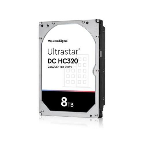 Жесткий диск WD Original SAS 3.0 8Tb 0B36400 HUS728T8TAL5204 Ultrastar DC HC320 (7200rpm) 256Mb 3.5