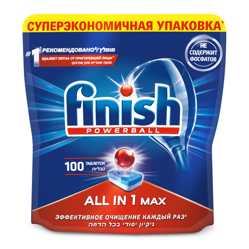 Таблетки Finish All in One Max (упак.:100шт) (3065326)