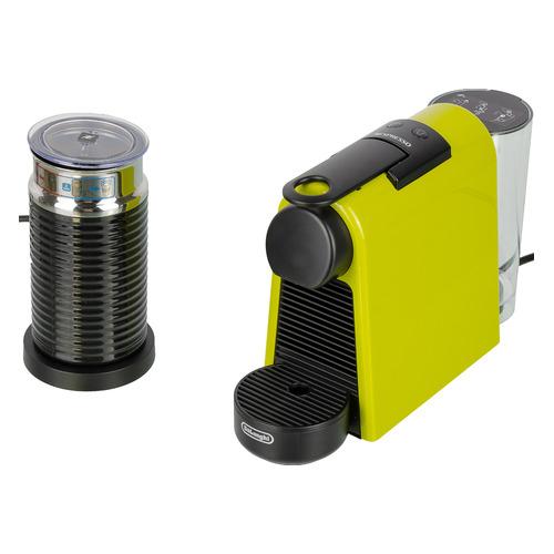 Капсульная кофеварка DELONGHI Nespresso mini Bundle EN85.LAE, 1260Вт, цвет: зеленый [0132191668] цена и фото