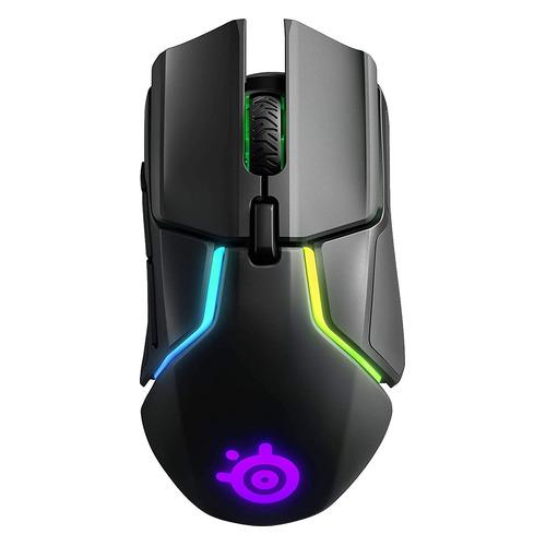 Мышь STEELSERIES Rival 650, игровая, оптическая, беспроводная, USB, черный [62456] 650 по цене 8 990
