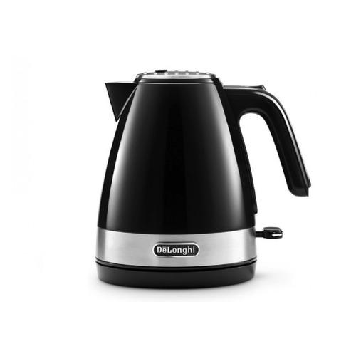 Чайник электрический DELONGHI KBLA2000.BK, 2000Вт, черный цена и фото