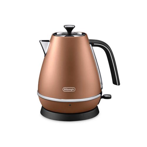 Чайник электрический DELONGHI KBI2000.CP, 2000Вт, бронзовый