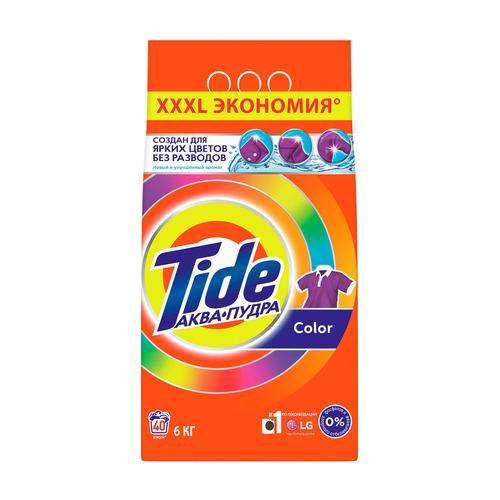 Стиральный порошок TIDE Color, автомат, 6кг