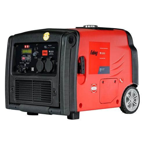 Бензиновый генератор FUBAG TI 3200, 220 В, 2.56кВт [838206] fubag ti 1000